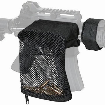 Brass Bullet Catcher Gun Mesh Trap Shell Catcher Wrap Around Zippered Bag