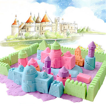 100G Magic Motion Colorful Play Sand Kid DIY Indoor Play Craft Non Toxic Clay Tool