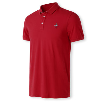 Charmkpr Leisure Embroidery Embroidery Golf Shirt for Men