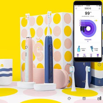XIAOMI SOOCAS X5 Smart APP Electric Toothbrush Ultrasonic USB Wireless Charging Teeth Whitening Oral Hygiene Care