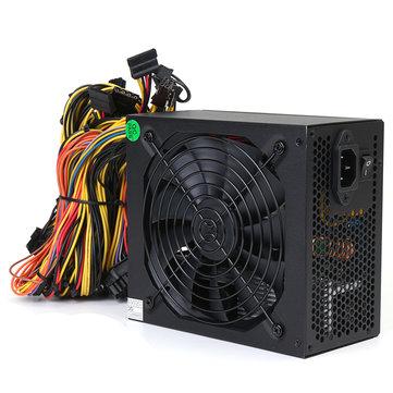 1600W Miner Mining Power Supply For 6 GPU Eth Rig Ethereum Coin Mining Miner Machine