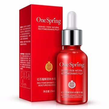 Red Pomegranate Nourishing Moisturzing Essence Serum Face Cream Whitening Anti Aging Hyaluronic Acid Liquid