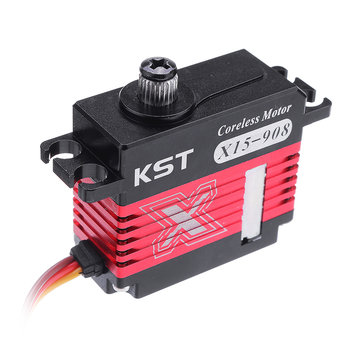 Original KST X15-908 Digital Servo Coreless 9.2KG Metal Gear para RC Helicóptero 1:12 RC Coche
