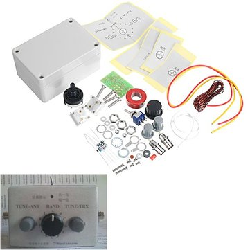 1-30Mhz LED VSWR DIY Manual Antenna Tuner Kit For HAM RADIO * CW QRP Q9 BNC Interface