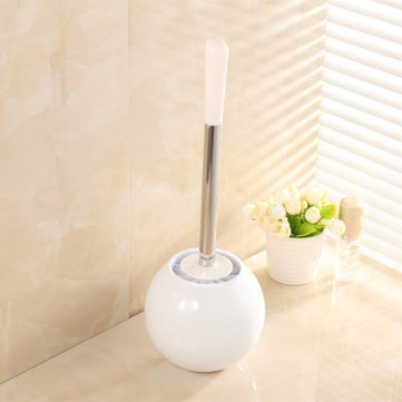 Honana BC-621 Creative Toilet Brush Bathroom Toilet WC Scrub Cleaning Brush Holder Set Bathroom Cleaning Accessories