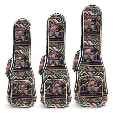 21'' 23'' 26'' Canvas Soprano Ukulele Concert Ukulele Shoulder Back Gig Bag