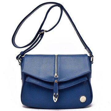 Women Genuine Leather Vintage Crossbody Bags Ladies Elegant Shoulder Bags Messenger Bags