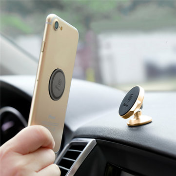Baseus Small Ears Series Vertical Type Dashboard Desktop Magnetic Bracket Sucker Phone Holder