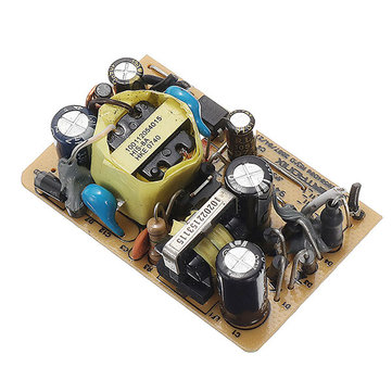 3pcs AC-DC 12V 0.5A 6W Switching Power Bare Board Stabilivolt Power Module For LED Stage Light AC 100-240V To DC 12V