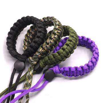 Universal Fashion Strap Personality Lanyard Adjustable Weave Flashlight Accessories for Lanyard Camera Lanyard