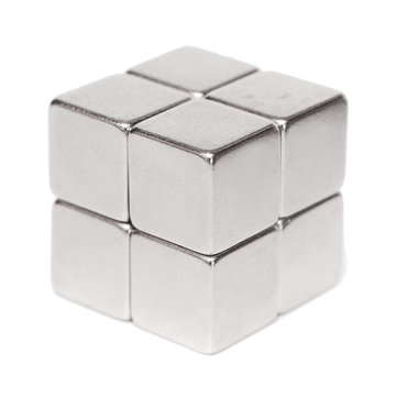 8pcs N52 10x10x10mm Block Neodymium Magnet Super Strong Permanent Rare Earth Magnet