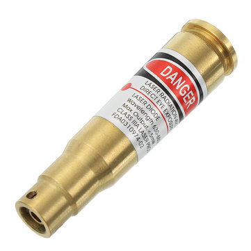 CAL 7.62x39 Laser Bore Sighter Red Dot Sight Brass Cartridge Bore Sighter Caliber