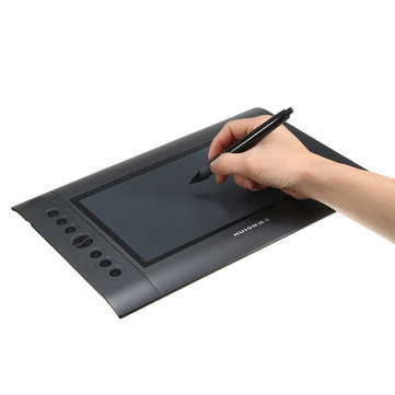 HUION H610 10*6.25'' Digital USB Art Graphics Drawing Writing Board Pen Tablet