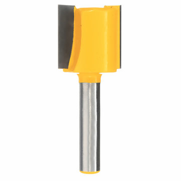 3/4 Inch W x 3/4 Inch H Straight Router Bit 1/4 Inch Shank Woodworking Milling Cutter