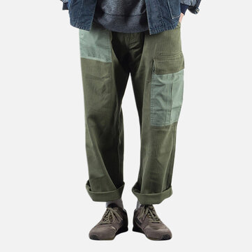 Japanese Men Military Multi Pockets Cargo Pants