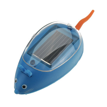 Cute Solar Powered Toy Rat Children's Educational Science Toy Funny Gift