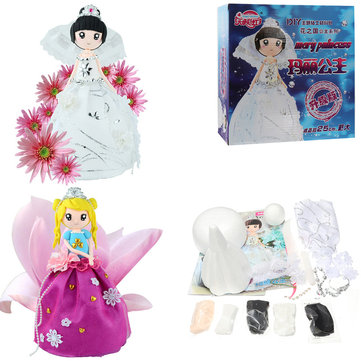 DIY Clay Doll Figures With Manual Soft Ultralight Non-Toxic Modelling Clay Gift Decor