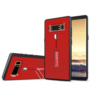 Bakeey Full Body Front & Back Cover Strap Grip Kickstand Case For Samsung Galaxy Note 8