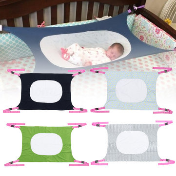 Portable Infant Baby Hanging Hammock Folding Cot Bed Travel Playpen Crib Holder