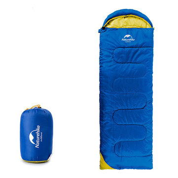 NatureHike Single Sleeping Bag Winter Outdoor Camping Hiking Envelope Sleeping Mat