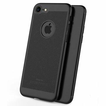 Calore dissipante della maglia Anti Custodia per PC rigida per impronte digitali per iPhone 7 & 8