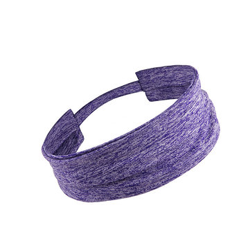 KALOAD Sport Headband Men Women Perimeter 48cm Head Sweat Band Run Yoga Fitness Silicone Elastic Sweatband HairBand