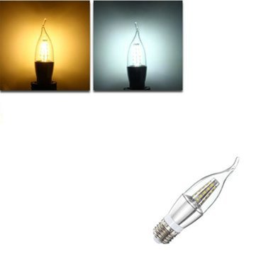 E27 E14 E12 B22 B15 6W 35 SMD 2835 LED Warm White White Candle Light Lamp Bulb AC85-265V
