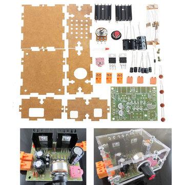2.0 Dual Channel TDA2030A Carte d'amplificateur de puissance Module d'alimentation AC / DC avec boîtier