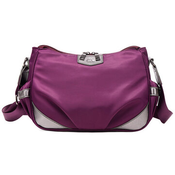 Women Light Weight Waterproof Crossbody Bags Outdooors Shoulderbags Nylon Messenger Bags
