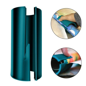 Drillpro Mini Sliding Wrapping Paper Cutter Utility Carton Paper Cutting Tools Green White Black