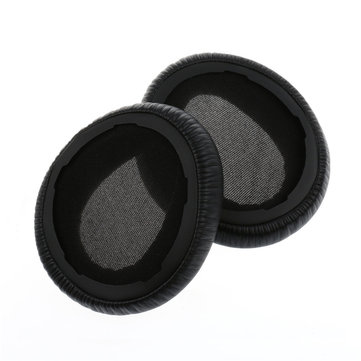 Replacement Protein Leather Ear Pads Cushion for Sony MDR-10RBT MDR-10RNC MDR-10R Headphone Headset