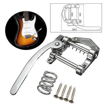 Сплав цинка гитара тремоло серебряный вибрато струнодержатель для электрической гитары