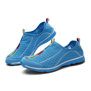 Unisex Sport Shoes Water Shoes Casual Breathable Outdoor Comfortable Mesh Athletic Shoes