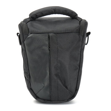 Black Sling Camera Shoulder Bag Case Top-load for Canon DSLR Rebel T5I T3i XTi