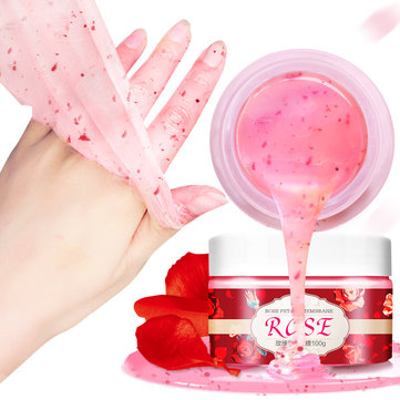 100g Rose Wax Hand Mask Exfoliating Nourishing