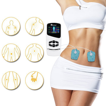 TENS Unit Electronic Pain Relief Massager 6 Modes with 4 Pad