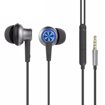 ROCK Y5 Stereo Sweatproof Tangle-free Metal Earphone for iPhone Samsung Xiaomi