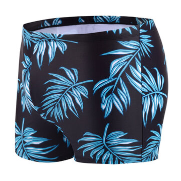 Mens Swimming Pad Trunks Beach Quick-drying Swimming Trunks