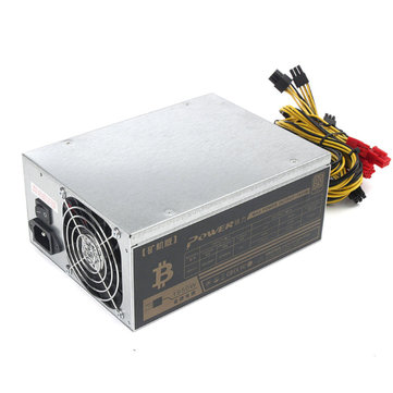 1800W Mining Power Supply Mining Rig Machine 1950W Peak