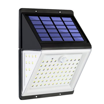 88 LED Solar Power Light PIR Motion Sensor Garden Security Outdoor Yard Wall Lamp