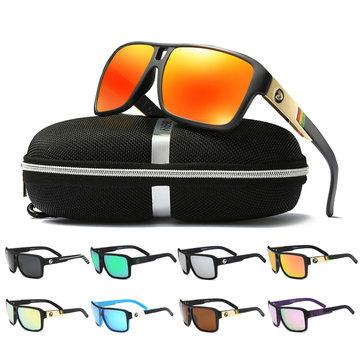 DUBERY D008 Polarized Sunglasses Square Sport Driving Helm Sun Glasses Eyewear