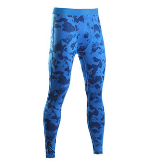 Camouflage Compressiebroek Heren Fitness Jogging Skins Tights Gym Long Leggings Quick Dry Pants