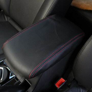 Microfiber Leather Car Center Console Arm Rest Cover Cushion for Toyota Highlander 2008-2013