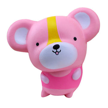 Meistoyland 10cm Squishy Pink Rat Langzame Rising Soft Kid Toy Collection Gift Decor Toy