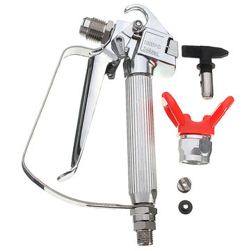 3600PSI Airless Paint Spraying Gun with Tip Guard for TItan Wagner Sprayer