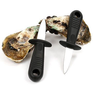 KCASA KC-WC07 Stainless Steel Oyster Opener Knife Seafood Clam Shellfish Shucker Knife Kitchen Tools