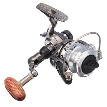 MN100 4.3:1 Mini Fishing Reel Metal Left/right Max Drag 4kg Spinning Reel Winter Ice Wheel