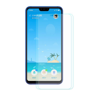 Enkay 2PCS Anti-explosion Full Cover Tempered Glass Screen Protector for Xiaomi Mi8 Mi 8 Lite