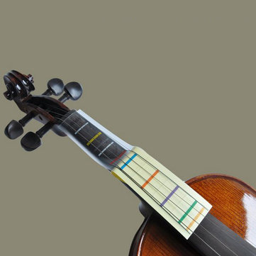 1Pcs Violin Finger Board Chart Sticker For 4/4 3/4 1/2 1/4 1/8 Violin