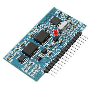 DC-AC 5V Pure Sine Wave Inverter SPWM Driver Board EGS002 EG8010 + IR2110 Driver Module 12Mhz Crystal Oscillator CMOS RS232 Over-Voltage Under-Voltage Over-Current Over-Heating Protection